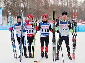 2020年全国首届滑雪定向挑战赛