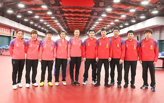 国乒公布2020年釜山世乒赛参赛名单