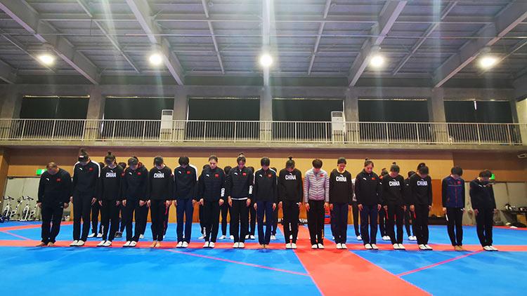 國家跆拳道隊致敬英雄,緬懷同胞!