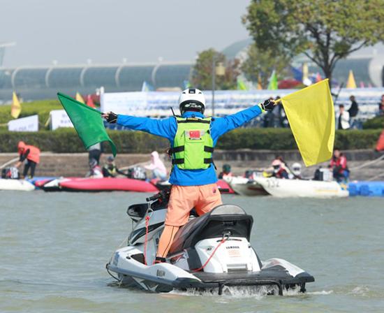 中国滑水潜水摩托艇运动联合会摩托艇项目竞赛裁判员服装赞助权益招商公告