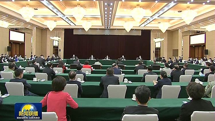 【两会进行时】王沪宁与体育界别政协委员共商国是