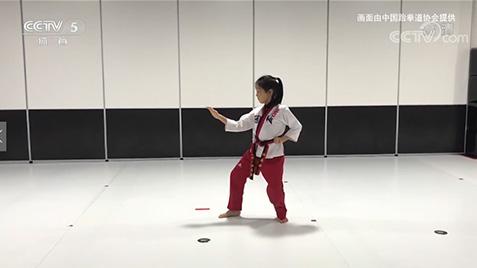 """【媒体聚焦】CCTV5:首届线上少儿跆拳道品势公开赛""""六一""""落幕"""