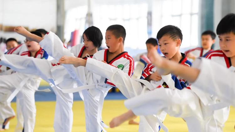 中跆协为小选手搭建线上逐梦新平台