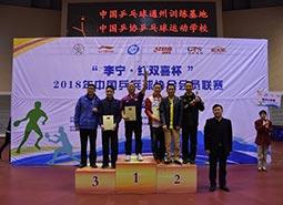 2018年中国乒协会员联赛(江苏南通站)圆满落幕