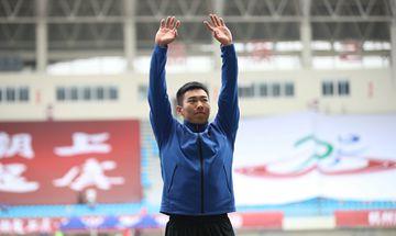 全国田径锦标赛 天津选手马群获男子标枪冠军