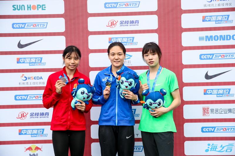 2020年全国火狐体育娱乐锦标赛 女子跳远决赛 郭思佳夺冠