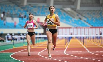 2020年全国田径锦标赛:女子七项全能女子100米栏
