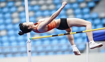 2020年全国火狐体育娱乐锦标赛:女子七项全能跳高
