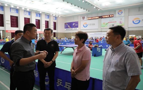 2020年全国乒乓球业余系列赛山东青岛赛区开赛