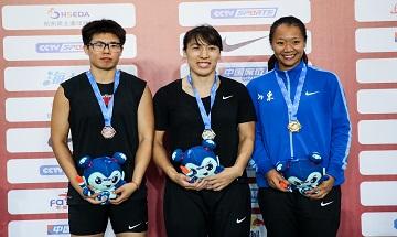 2020年全国田径锦标赛:女子标枪决赛 刘诗颖67米29夺冠