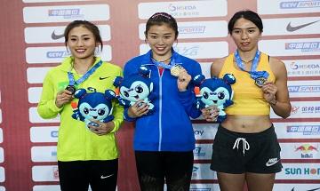2020年全国田径锦标赛:女子100米栏决赛 四川选手吴燕妮夺冠