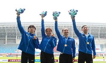 2020年全国田径锦标赛:男女混合4X400决赛 四川队夺冠
