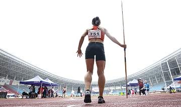 2020年全国田径锦标赛:女子七项全能标枪