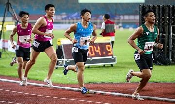 2020年全国田径锦标赛:男子十项全能1500米
