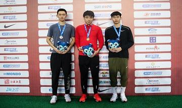 2020年全国田径锦标赛:男子110米栏决赛 谢文骏夺冠