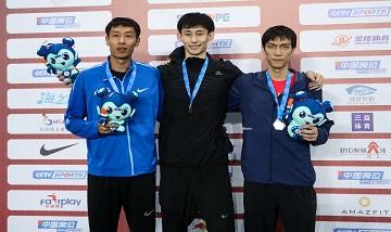 2020年全国田径锦标赛:男子跳高决赛 黑龙江选手李佳伦夺冠、王宇第二