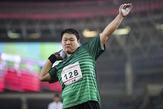 2020年全国田径锦标赛:男子200米预赛 谢震业出战