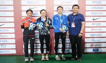 2020年全国田径锦标赛:女子5000米决赛 许双双夺冠