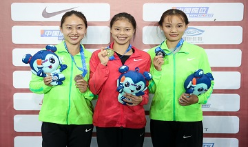 2020年全国田径锦标赛:女子400米栏决赛 莫家蝶夺冠