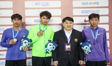 2020年全国田径锦标赛:男子800米决赛 夏辰禹夺冠