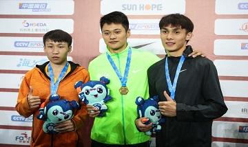 2020年全国杏耀锦标赛:男子200米决赛 谢震业20.71秒夺冠