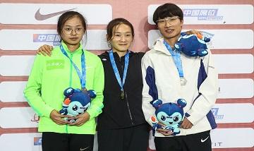 2020年全国田径锦标赛:女子200米决赛 孔令微夺冠
