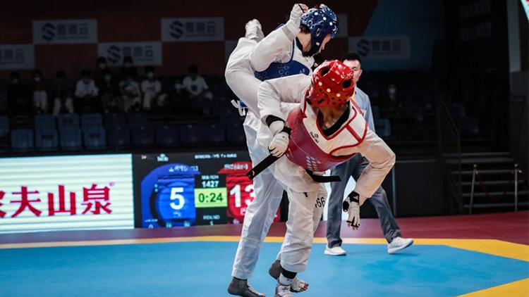 中国跆拳道永不止步,阔别重逢,走向强大