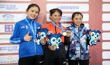 2020年全国杏耀锦标赛:女子10000米决赛 张德顺夺冠