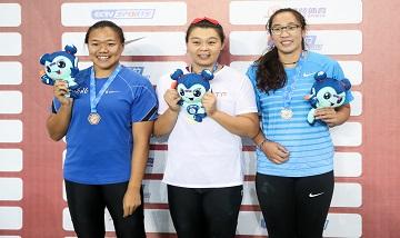 2020年全国田径锦标赛:女子铁饼决赛