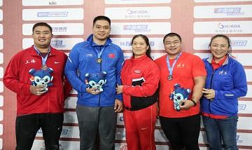 2020年全国田径锦标赛:男子铅球决赛河北选手田子重夺冠