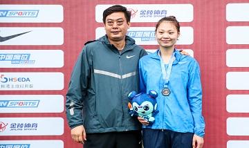 2020年全国田径锦标赛:女子跳高决赛 黄敏夺冠