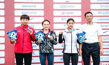 2020年全国田径锦标赛:女子3000米障碍决赛 许双双夺冠