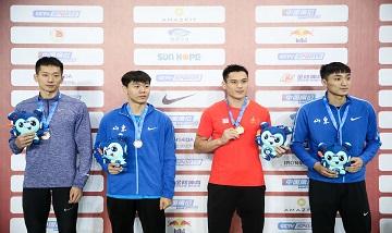 2020年全国田径锦标赛:男子撑杆跳决赛 姚捷夺冠