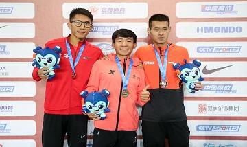 2020年全国田径锦标赛:男子3000米障碍决赛 骆淳夺冠