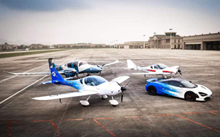 中国轻型飞机运动VI体系开发