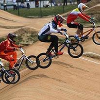 BMX泥地竞速小轮车