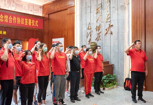 中国国家田径队湛江集训组积极开展主题党日活动