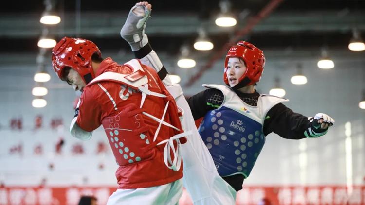 磨炼意志 储备能力 提高水平 中国跆拳道队立足冬训决胜东京