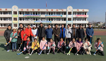 曲棍球项目在淮安市宋集中心小学落地开花