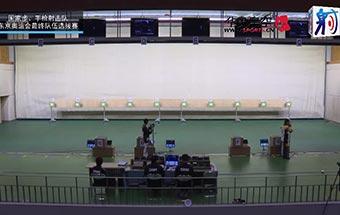 2021国家射击队东京奥运选拔赛2月7日气步枪混合团体男子铜牌争夺战