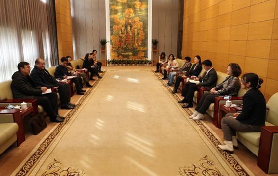 中国体育博物馆团队赴首都博物馆开展党史学习教育活动