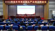 安徽省体育局召开2021年全面从严治党工作会议