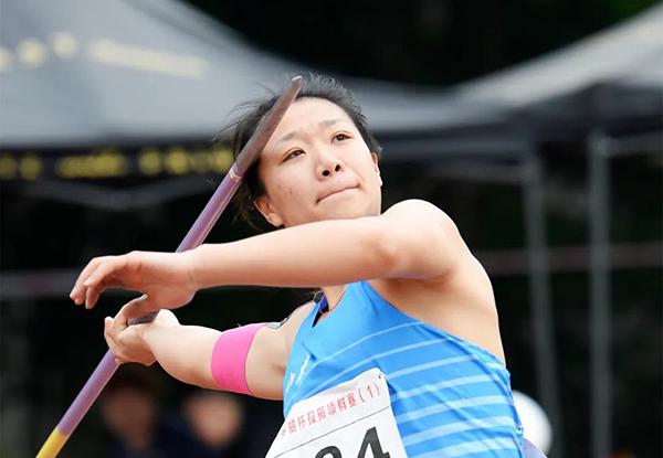 刘诗颖掷出女子标枪赛季世界最佳