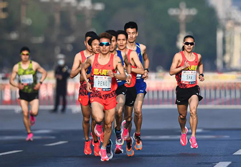 奋进六十五载 致敬百年征|中国银联2021北京国际长跑节——北京半程马拉松盛大起跑