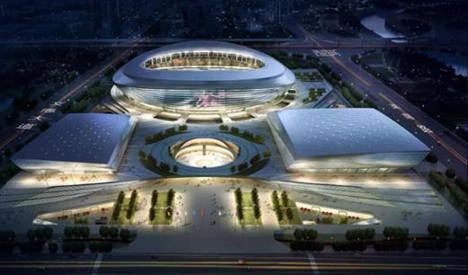体育场馆型体育服务综合体之郑州奥体中心