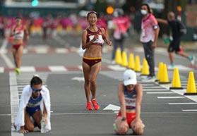 东京奥运会女子20公里竞走刘虹摘铜