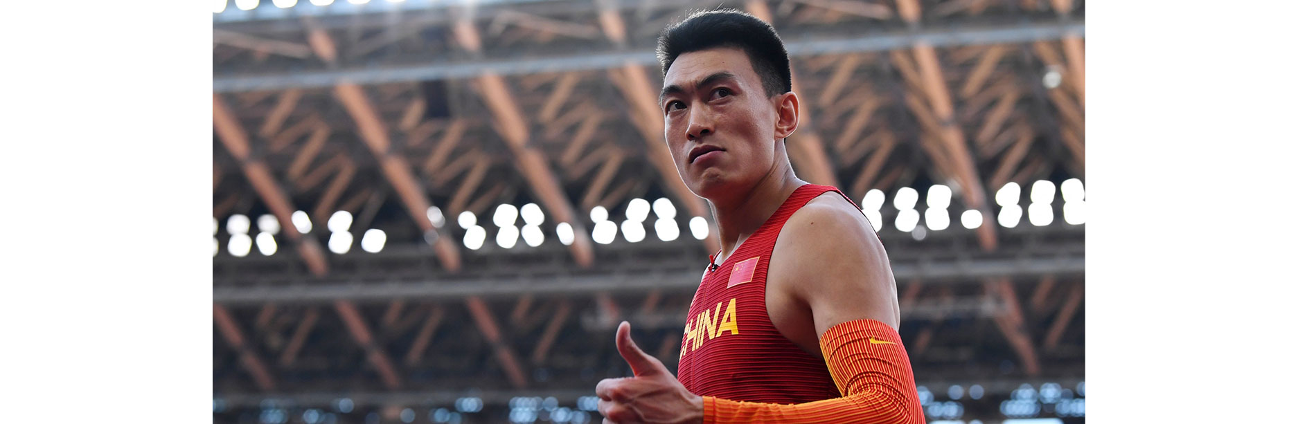 Feature: Chinese triple jumper Zhu Yaming aims further after winning silver at Tokyo Olympics