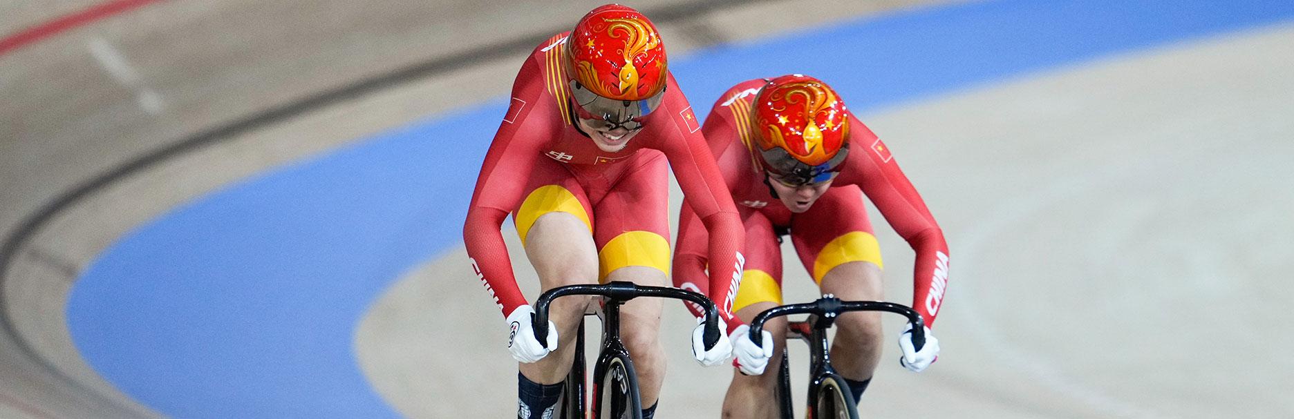 中國場地自行車東京奧運會蟬聯冠軍——為提高千分之一秒 窮盡一切可能