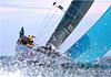 青岛国际帆船周两大核心赛事收帆