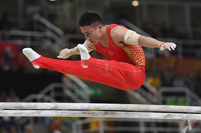 6年里约奥运会沙滩排球女子预赛中,中国选手王凡/岳园以0比2不敌